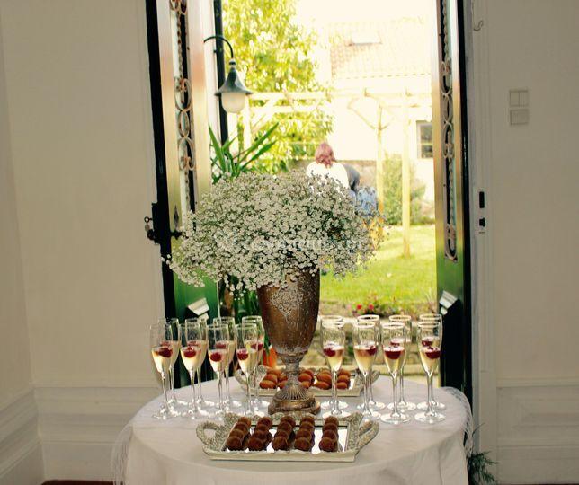 Recepção aos convidados