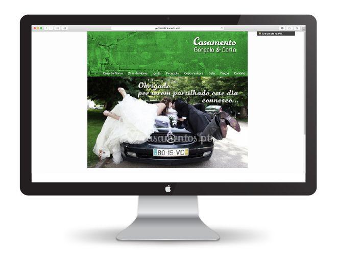 Casamento GC site informativo