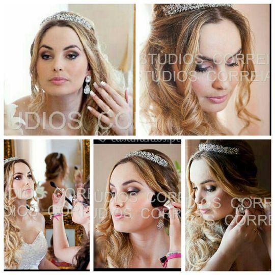 Maquilhagem noiva de Centro de Estética Flor da Pele