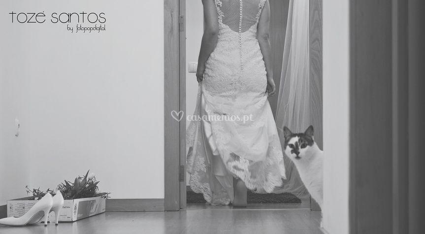 Noiva no seu dia d