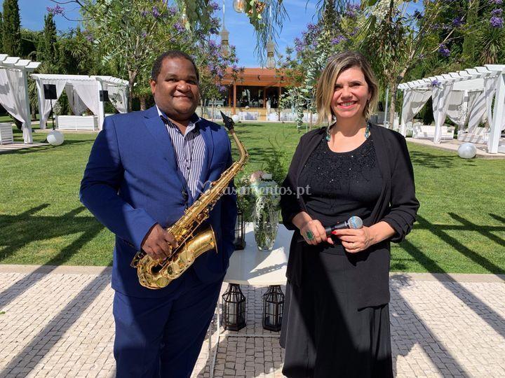 Beatriz De Luca & Elias Borges