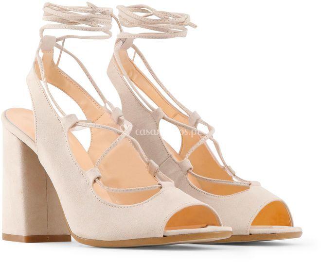 Sapato estilo bailarina