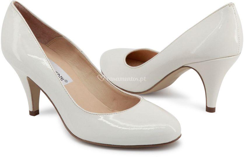 Sapato liso para noiva
