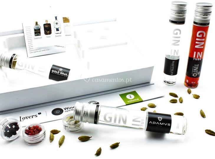 Coffret gin português