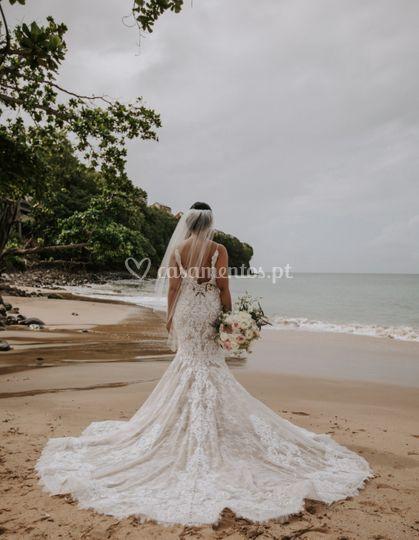 Noiva de praia