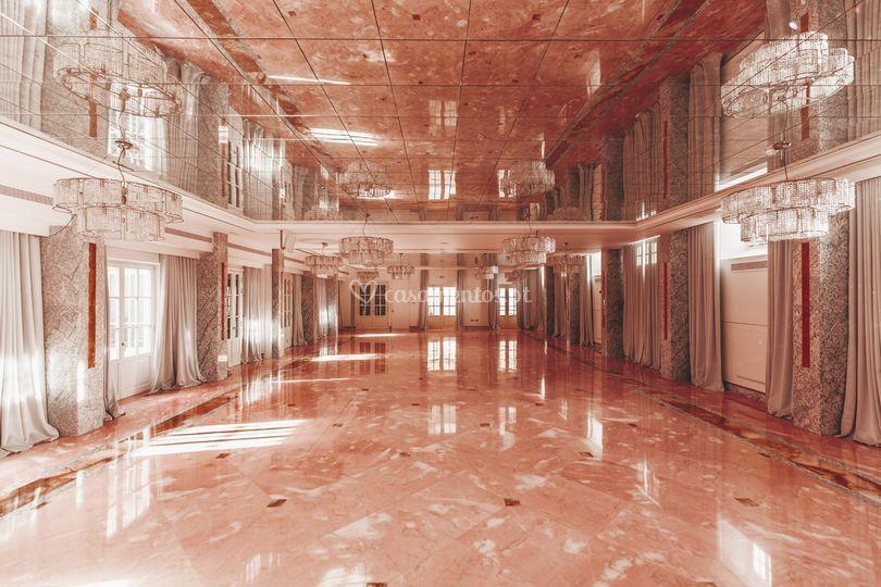 Salão Rosa - Salão principal