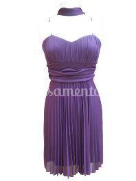Vestido Cerimónia 09.2051 roxo