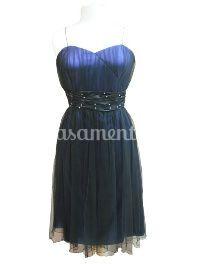 Vestido cerimónia 1632 azul