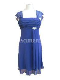 Vestido cerimónia 2213 azul