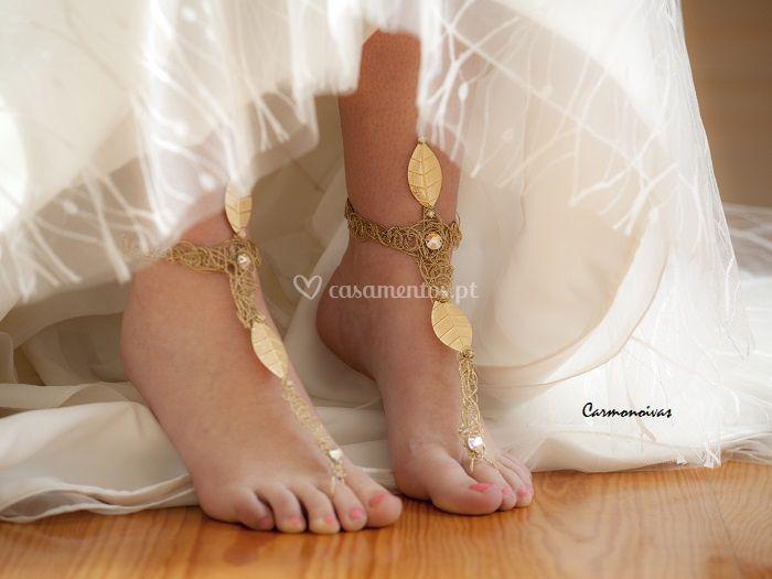 Pulseira de pé