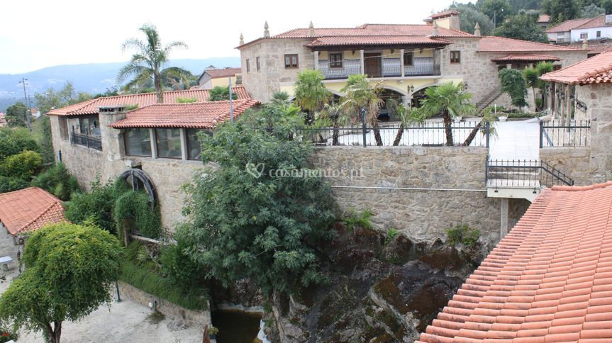 Espa�o exterior de Quinta do Ribeiro