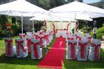 Casamento civil no jardim de Quinta do Ribeiro