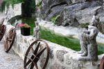 Espa�o exterior bonequinhos de Quinta do Ribeiro