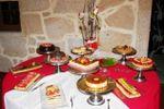 Mesa de doces de Quinta do Ribeiro