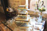 Mesa do bolo de Quinta do Ribeiro