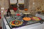 Mesa das frutas de Quinta do Ribeiro