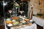Mesa das saladas de Quinta do Ribeiro