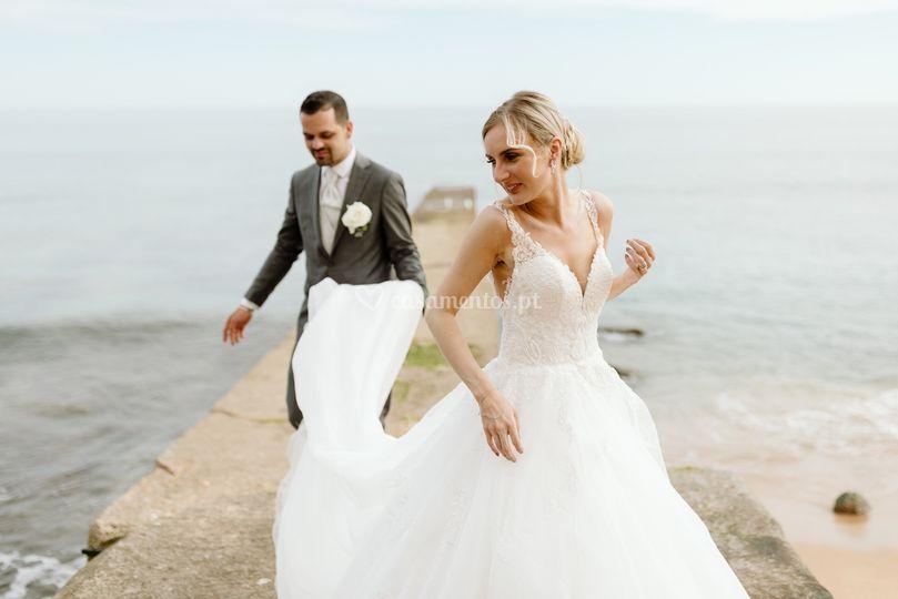 Alina & Danilo - Beach Wedding