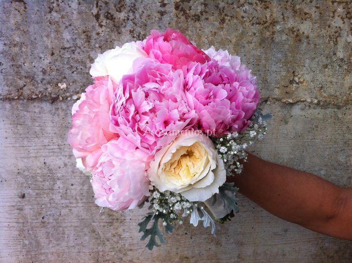 Bouquet peoneas - emilie