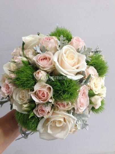 Bouquet rosas st. Terezinha