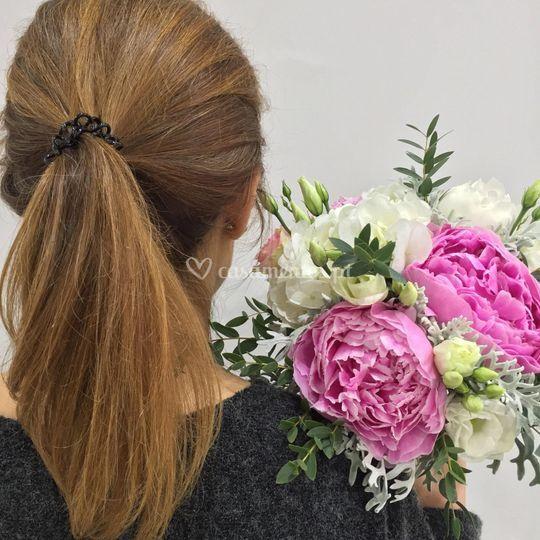 Bouquet Peoneas