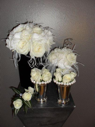 Bouquet hortences - tânia