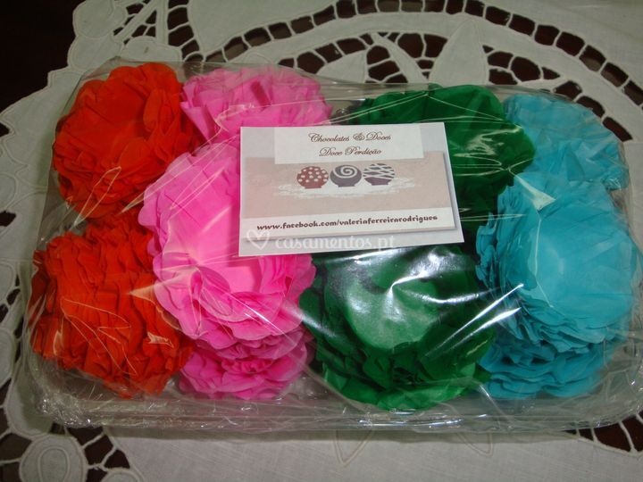 Forminhas de seda