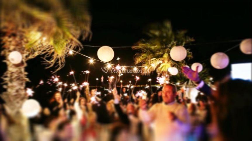 Festa na esplanada