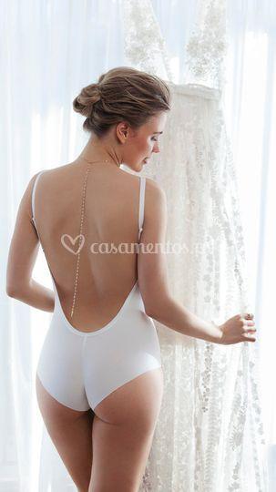 Body para vestido sem costuras