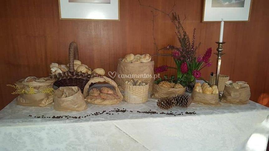 Mesa de pão