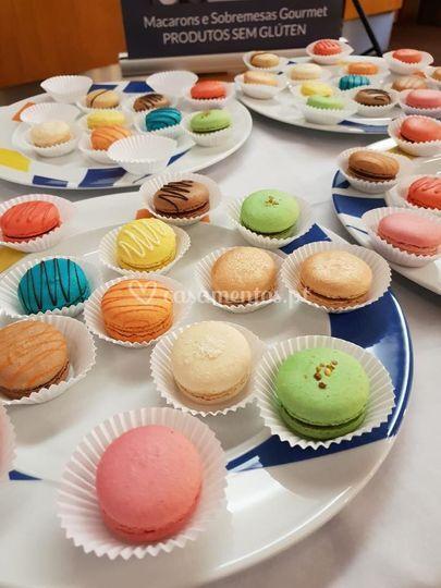 Diversidade de macarons