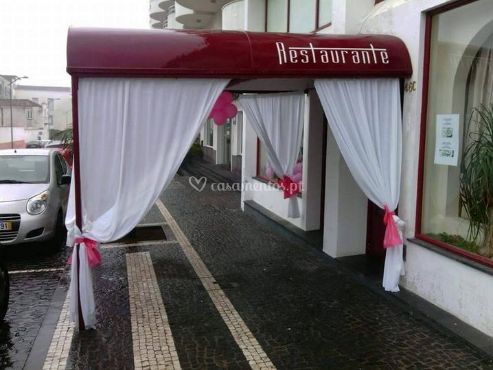 Entrada o restaurante
