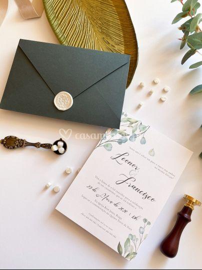 Convite modelo