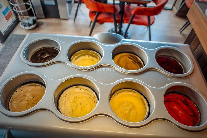 Gelados e sorvetes artesanais