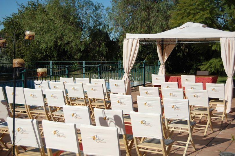 Cerimónia civil de Quinta das Glicinias