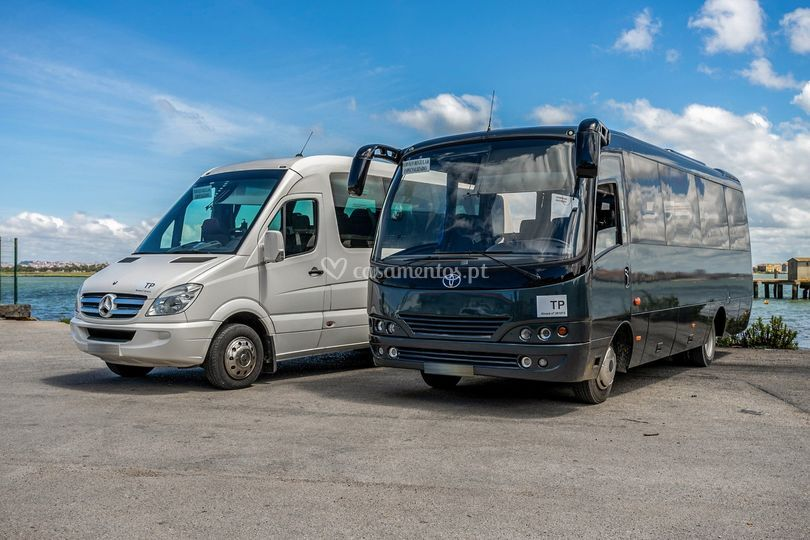 Minibuses 16 lug e 26 lugares