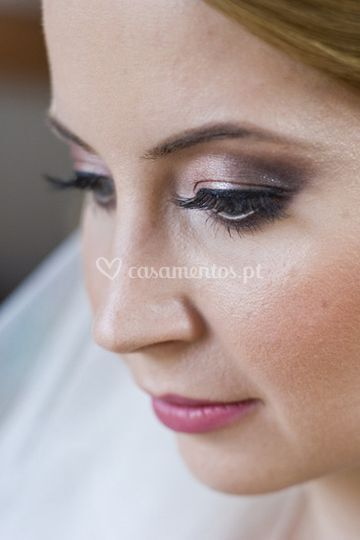 Maquilhagem natural para noivas