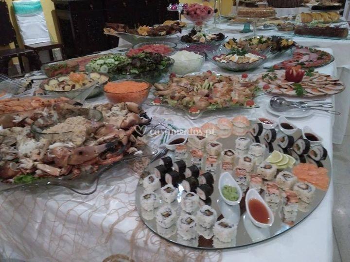 Serviço de catering