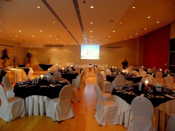 Sala casamento noite