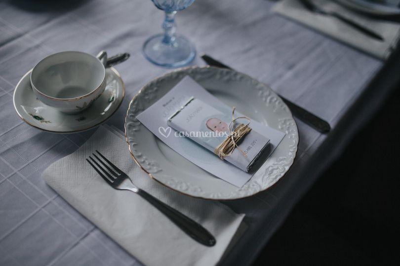 Pormenor de mesa