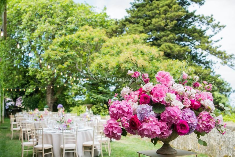 Pink Wedding Flowers Portugal
