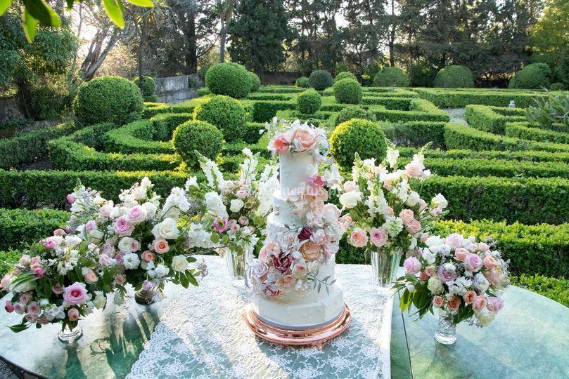 Bolo Wedding Flowers Portugal