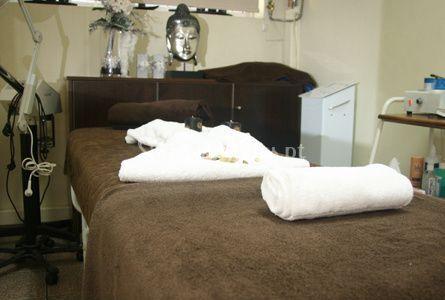 Cama de massagem