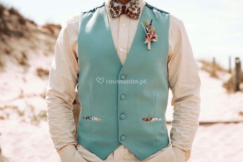 Camisa, Colete e papillon MM