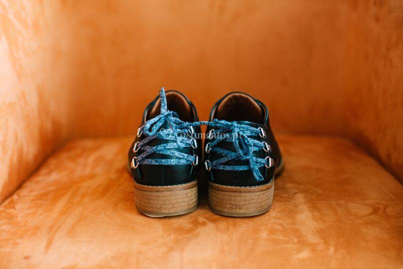 Sapatos personalizados.