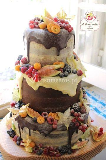 Casamento naked cake