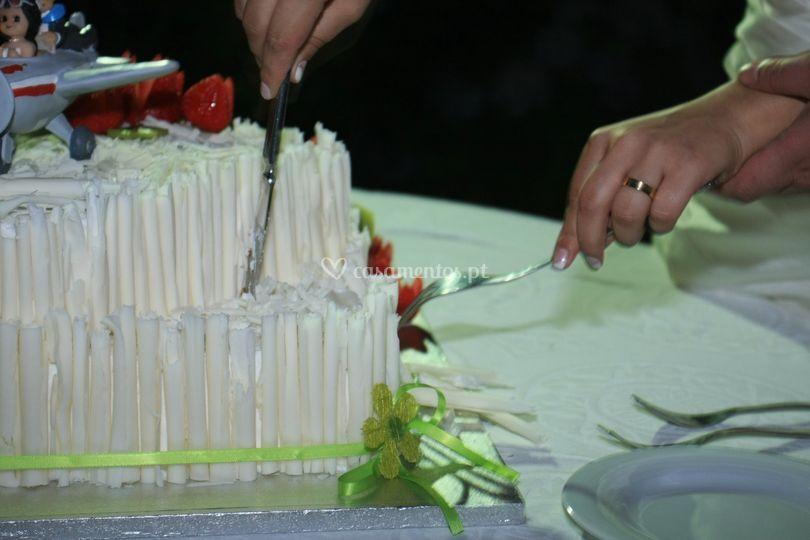 Corte bolo