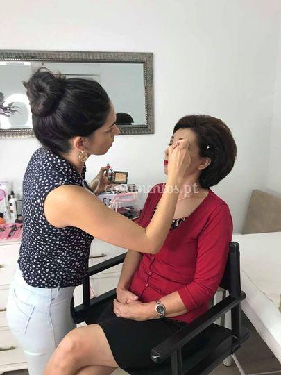 Maquilhagem mãe noivo