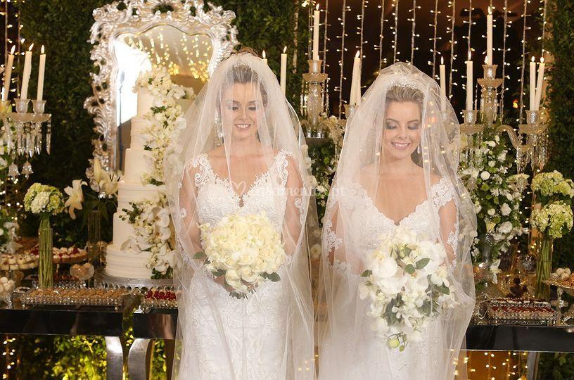 Irmãs se casam