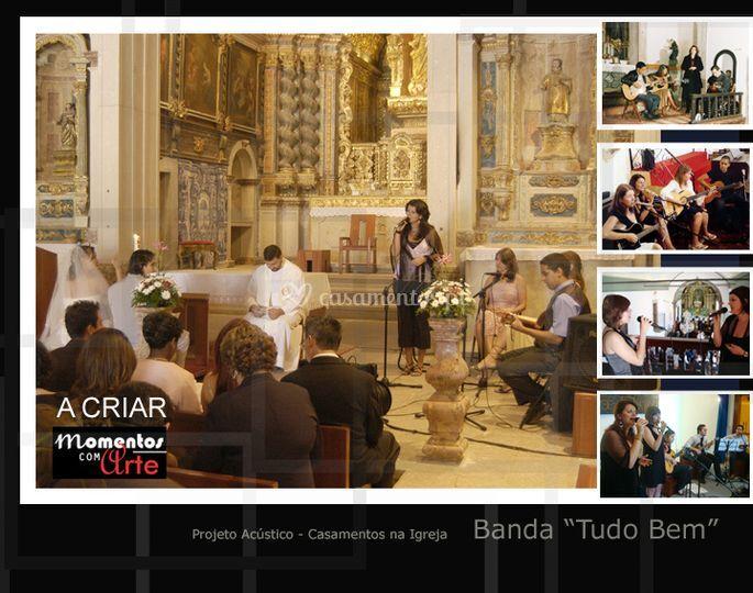Cerimónia na igreja